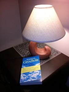 wieczorny relaks przy lekturze