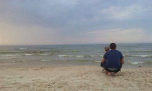 Szyszunie nad morzem